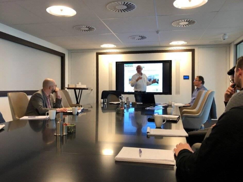 Externe opleidingen in de conferentiezaal gegeven door Berkvens medewerkers