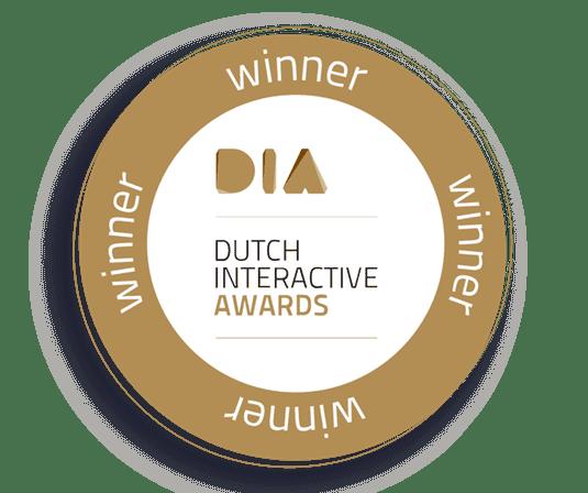 Dutch interactive awards winnaar