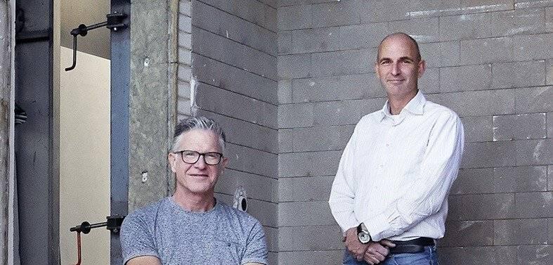 Eddy Hoebergen en Joost Baerselman